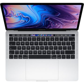 """Apple MacBook Pro 13"""" Touch Bar (2019) MUHQ2N/A Zilver"""