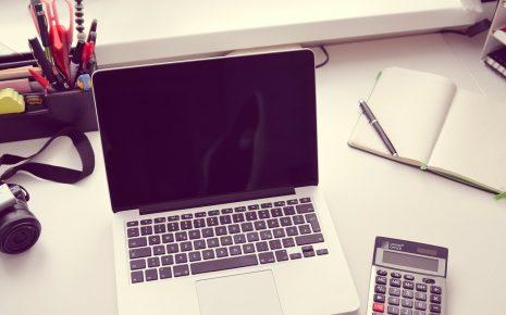 computer rekenmachine bureau kantoor