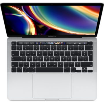 "Apple MacBook Pro 13"" (2020) MXK62FN/A Silver AZERTY"