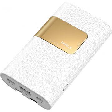 iWalk Secretary+ Powerbank 10.000 mAh Quick Charge + Power Delivery Wit
