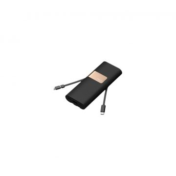 iWalk Secretary+ Powerbank 20.000 mAh Quick Charge 3.0 Zwart