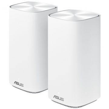 Asus ZenWifi AC Mini CD6 Wit Duo Pack