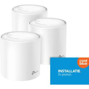 TP-Link Deco X60 Wifi 6 3-pack + Installatie service