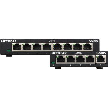 Netgear GS308 v3 + Netgear GS305 v3