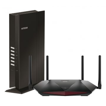 Netgear Nighthawk XR1000 + Netgear EAX20 mesh gaming set
