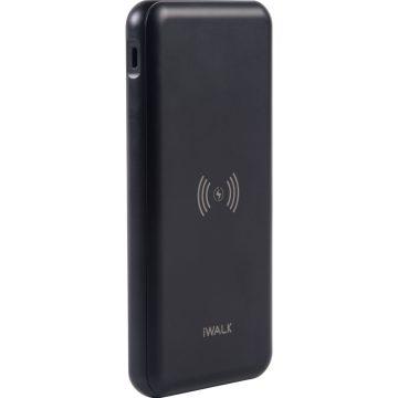 iWalk CHIC Draadloze Powerbank 10.000 mAh Power Delivery + Quick Charge Zwart