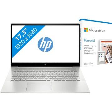 HP ENVY 17-cg1980nd + Microsoft 365 Personal NL Abonnement 1 jaar