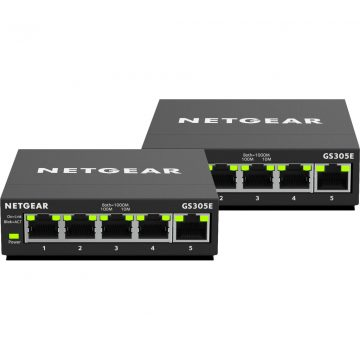 Netgear GS305E-100PES Duo Pack