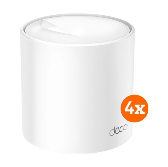 TP-Link Deco X60 Multiroom wifi 6 4-Pack