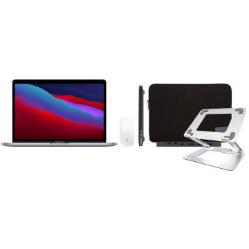 """Apple MacBook Pro 13"""" (2020) 16GB/1TB Apple M1 Space Gray + Accessoirepakket Deluxe"""
