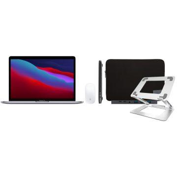 "Apple MacBook Pro 13"" (2020) 16GB/512GB Apple M1 Space Gray + Accessoirepakket Deluxe"